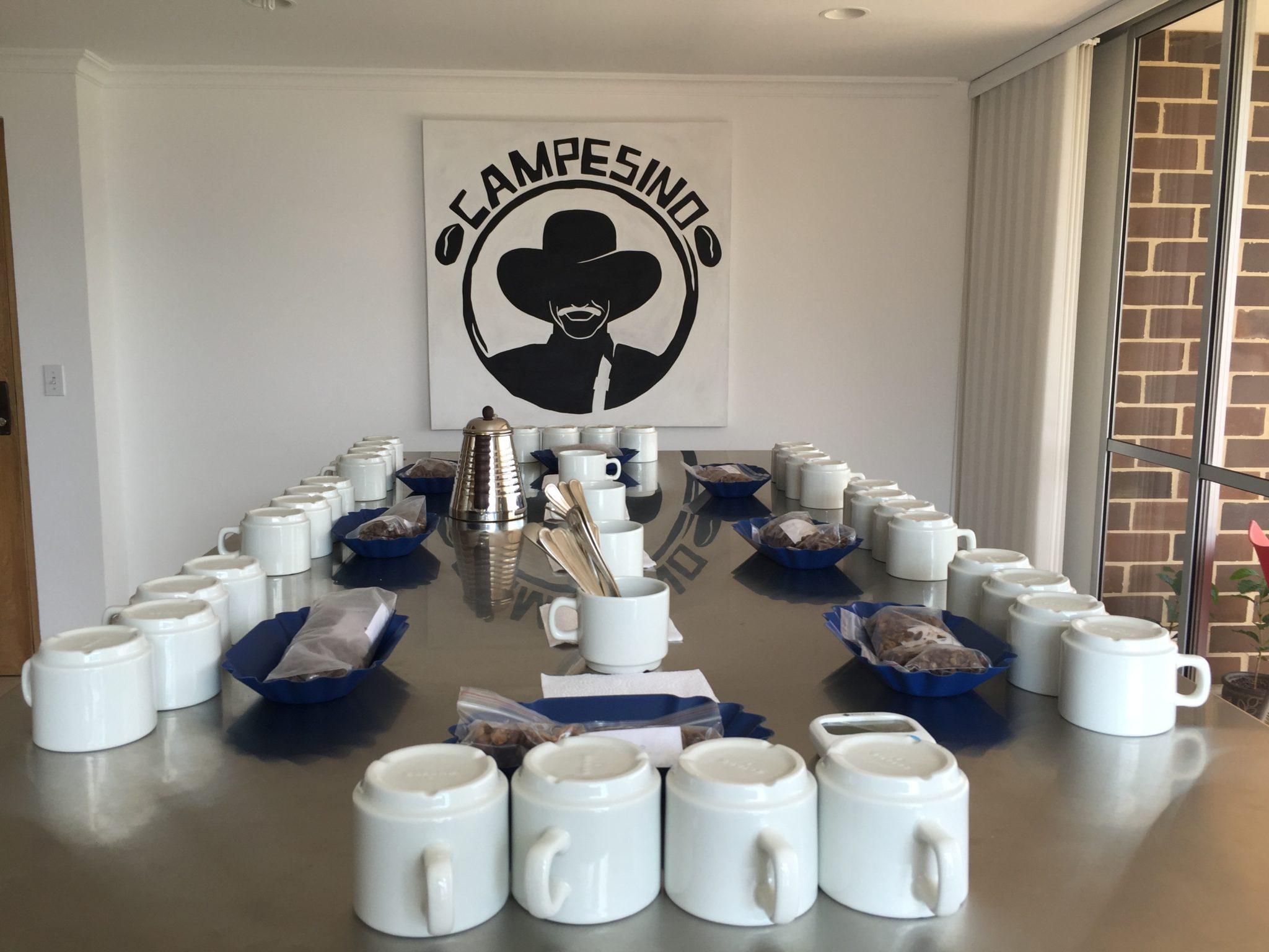 Campesino's Coffee Lab.