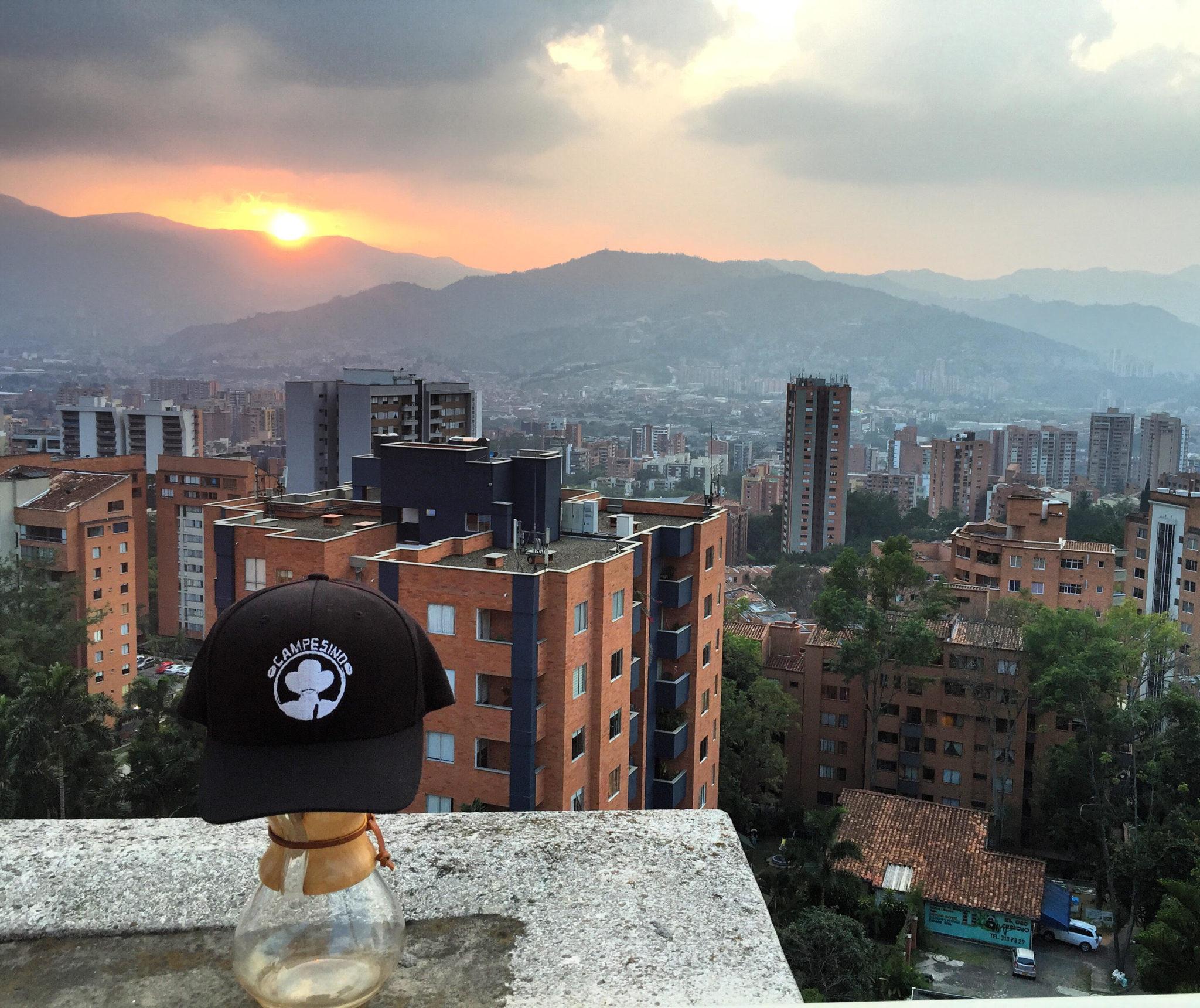 Medellin views.